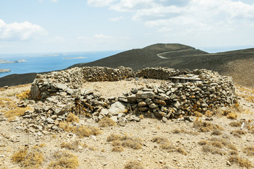 Steinpferch auf der Insel Astypalea, Dodekanes