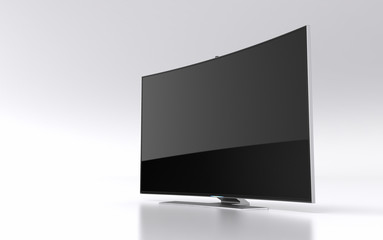 High-end curved smart led tv