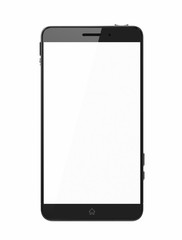 Custom smart phone with blank screen
