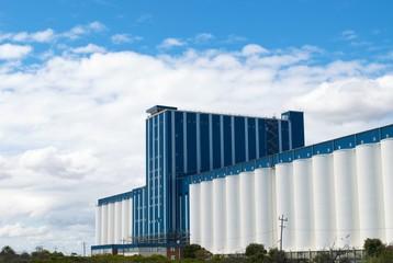 Grain storage plant