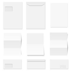 envelopes and writing paper