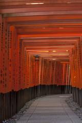 Tori on Inari shrine