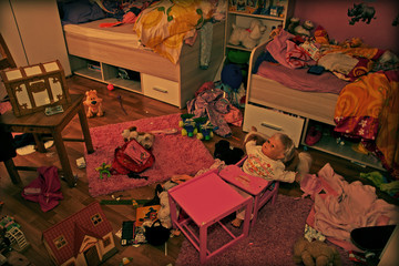 Chaos Kinderzimmer