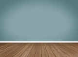 Empty Room / Wooden Floor - 69576967