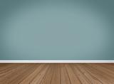 Empty Room / Wooden Floor