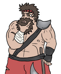 Think barbarian