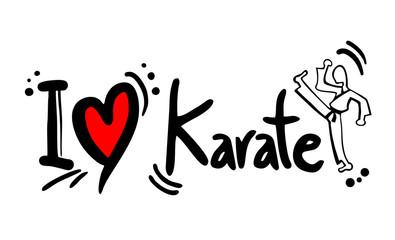 Karate love