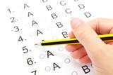 Examination test list poster