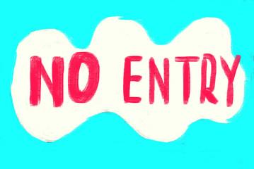 no entry concept