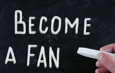 become a fan concept