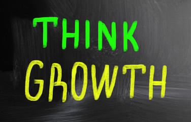 think growth concept