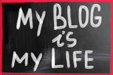 my blog is my life