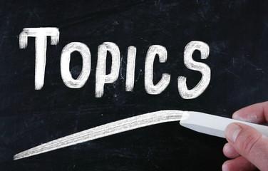 topics concept