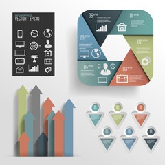 infographic design.vector  illustration
