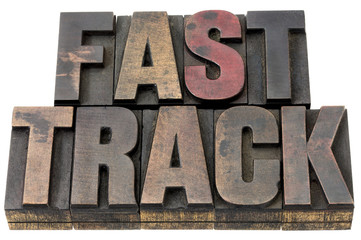 fast track in wood type