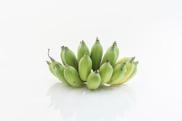 banana isolated as white background