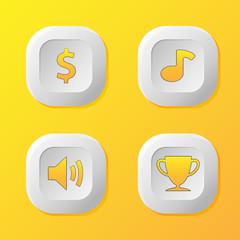 icon game button