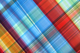 Fototapety abstract colorful of plaid.