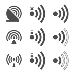 Wifi set icon