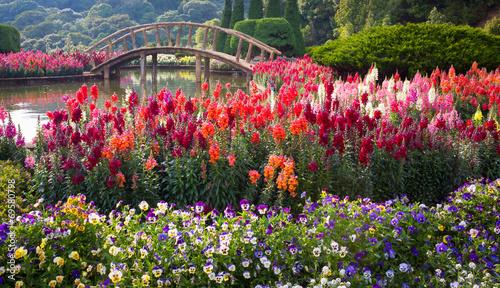 Fridge magnet Flower Garden