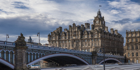 North Bridge,Old Town,Edinburgh,Scotland