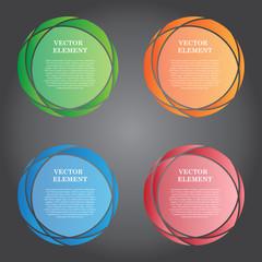 Vector Illustration Modern Banner for Design and Creative Work