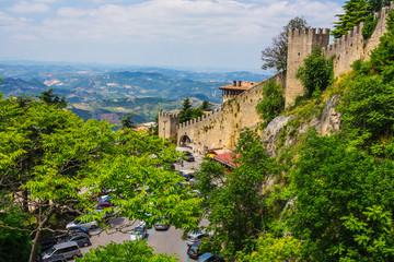 Rocca della Guaita, the most ancient fortress of San Marino
