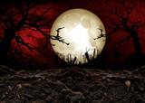 Halloween Festival Background poster