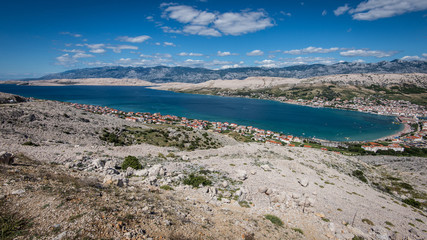 Pag village - Croatian sea