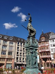 Justitia in Frankfurt am Main