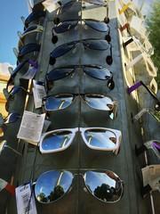 Spiegelung in Sonnenbrillen