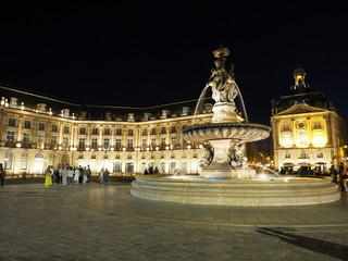 Place Royale en Bordeaux