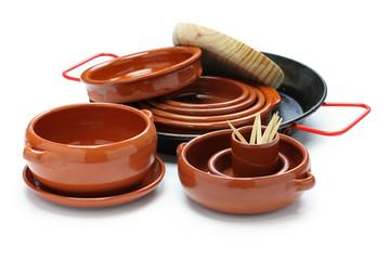 spanish tableware variety