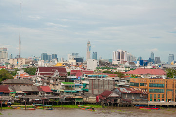 Highest tower view of Thailand and old town