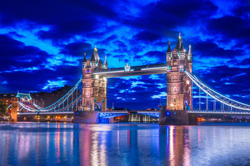 Tower Bridge In the Early Hours