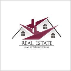 Immobilien Logo; das Haus