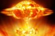 Постер, плакат: Nuclear explosion