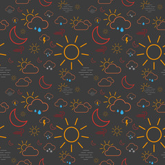 Seamless Weather Pattern