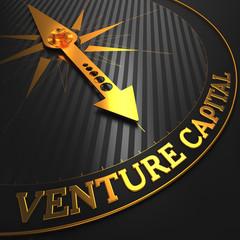 Venture Capital - Golden Compass Needle.