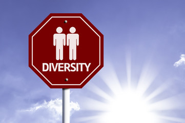 Diversity with Two Guys Icon sign