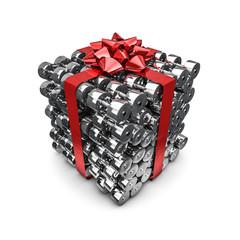 Dumbbell gift