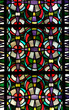 Stained glass window (pattern) - 69591776