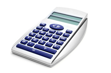 electronic calculator and Euro converter
