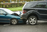 Fototapety car crash collision