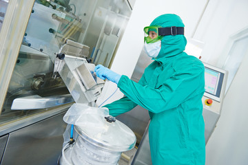 pharmaceutical factory tablet production