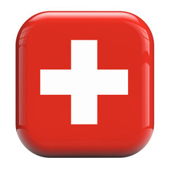 Swiss cross flag