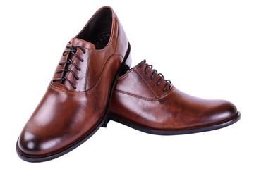 Men's autumn shoes with laces
