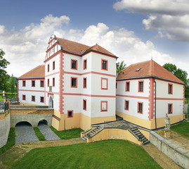 Lnare - Original water fort was founded in the 14th century