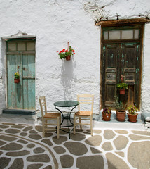 Café à Naxos