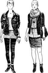 modern girls